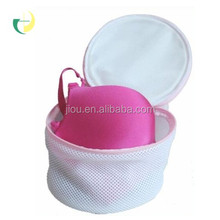 Women`s business trip mesh material made Bra bag can be washed