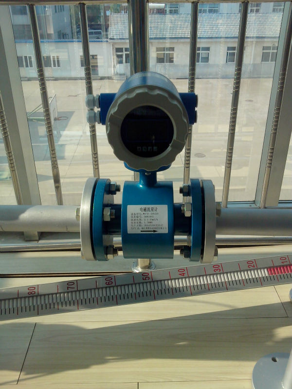RS485 or HART protocol electromagnetic flow meter with 3 electrode
