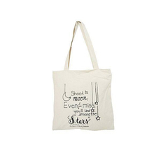 Personal Logo Printed Promotion Cotton Canvas Custom Tote Bag