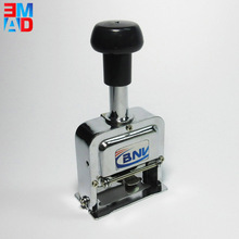 Chinese manual 8 digital clear date time self-inking stamp machine