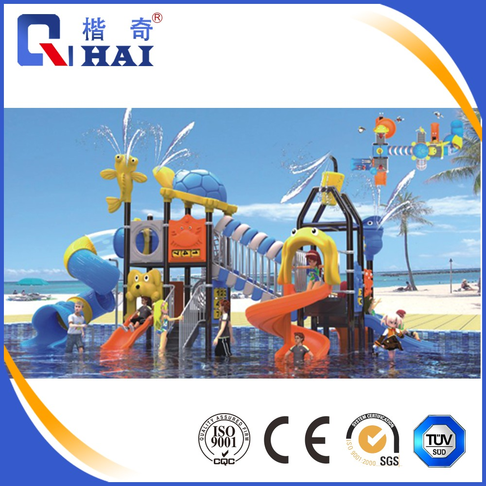 Commercial large plastic water slide, swimming pool plastic slide, water play <strong>equipment</strong>