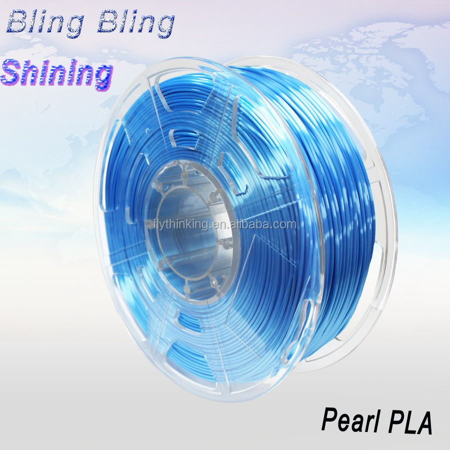 Peal color 1.75mm pla abs 3d printing filament for 3d printer FDM