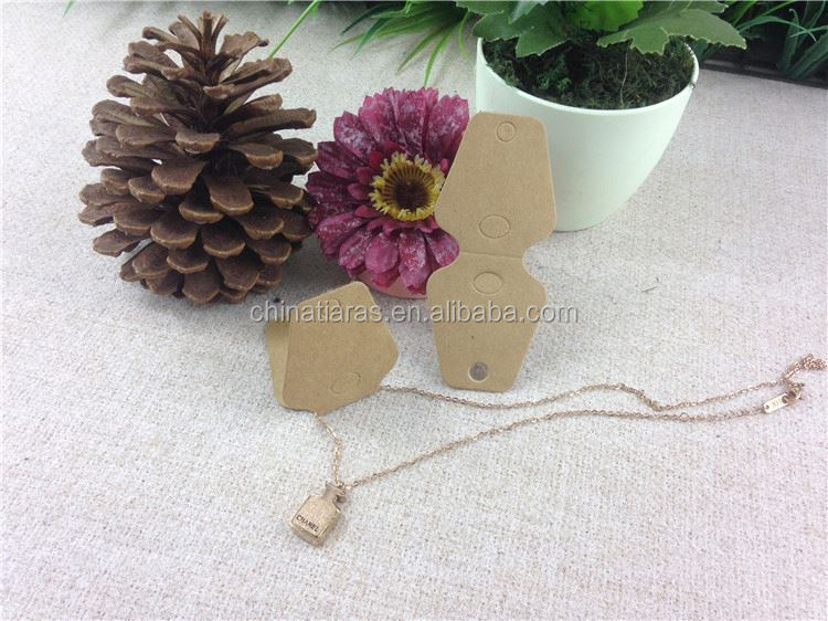Best selling unique design necklace cards from China