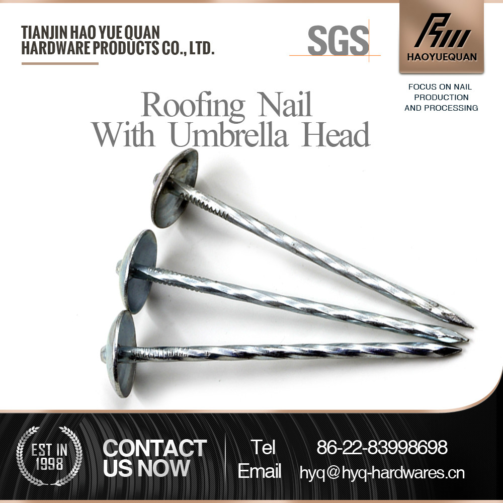 e.g. shingle roofing nails from manufacturers in tianjin saled to south korea
