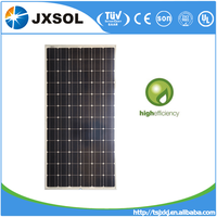 high efficiency photovaltaic solar panels 200w mono solar board for solar home system