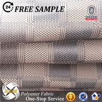 Polyester waterproof PU coated Oxford fabric