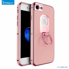 Finger Ring Holder Phone Case For phone7,For Iphone7 Kickstand Case With Ring Stand