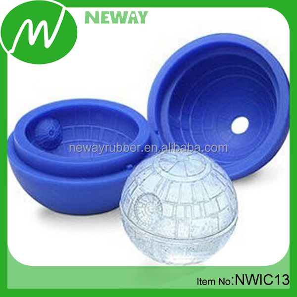 Round FDA Silicone Ball Shaped Ice Cube Tray