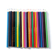Promotional customised 72 multi colored pencil set with cube