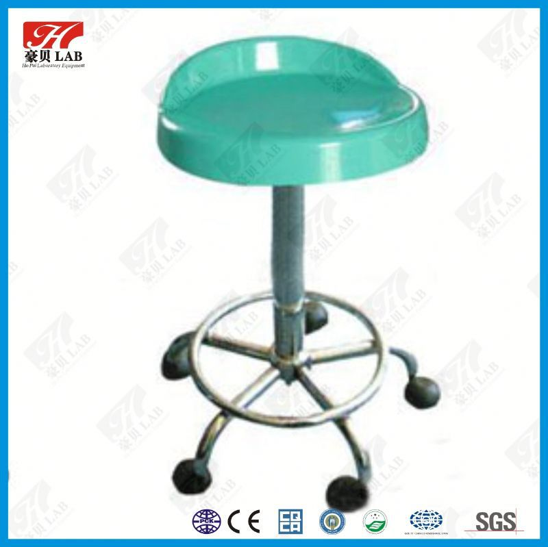 Stainless steel mental lab stool adjustable stool from China lab stool supplier