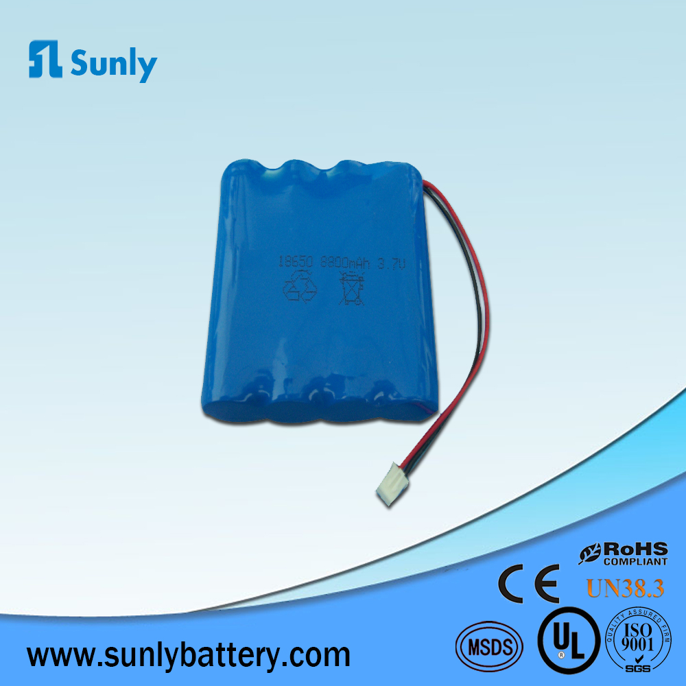 18650 battery charger 3.7V 8800mAh li ion battery pack for Portable devices