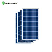 Sunway 12v 18v 24v 36cells poly 100w 100 w 100 watt solar panel price