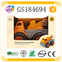 New Arrival Slide Truck Toy For Kids Construction Series Car
