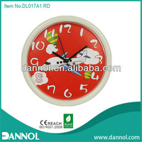 Guang zhou DANNOL home decor 10inch plane cheap plastic kids clock pictures