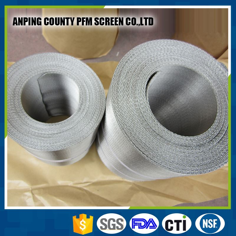 Auto Mesh 304 Reverse Stainless Steel Dutch Wire Mesh