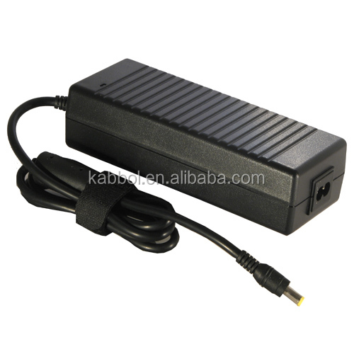 low price 19V 6.3A 120W Replacement AC Power Adapter notebook battery charger 5.5*2.5mm with yellow head for ACER laptop