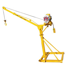 Building Roof Lifting Machine Small Mini Outdoor Indoor Portable Crane