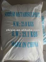 industrial used sodium metabisulfite