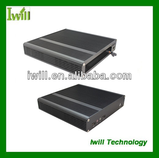 Iwill X4 all aluminum computer trolley case