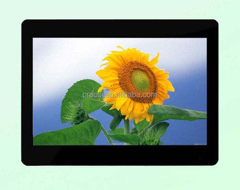 hd screen electronic picture frame /photo frame with movie player for product promotion