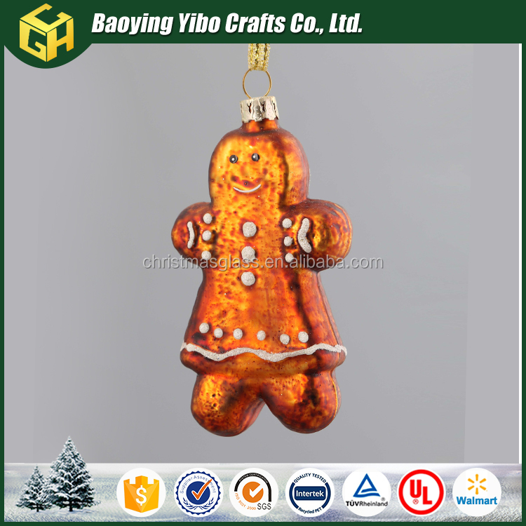 New product christmas gingerbread man decoration