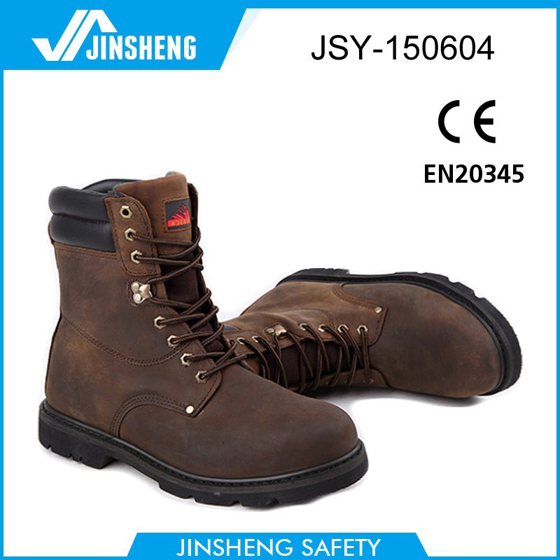 2015 italy cool steel toe industrial high ankle safety shoes