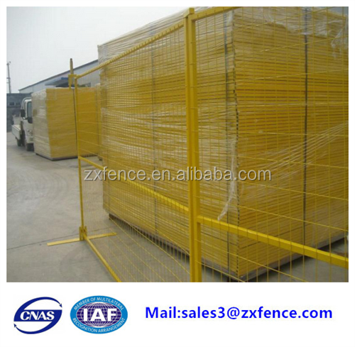 Canada temporary fence panels/metal fence