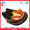 Elong high quality floor bumper car, amusement ride golden bumper car