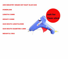 bulk hot melt glue gun for 11mm diameter sticks