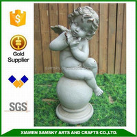 Buy new design lovely porcelain souvenirs baby angel statues in ...