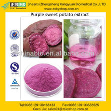 GMP manufacturer supply dood quality Purple Sweet Potato Extract