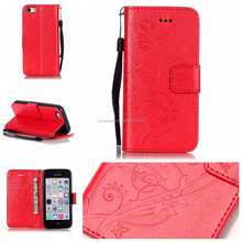 Wholesale Personalized for iPhone 5c Case Genuine Leather for iPhone 5 Case