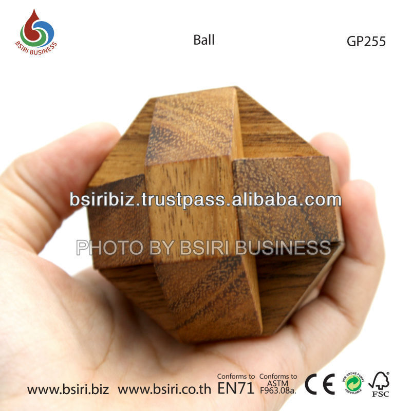 childrens wooden puzzles ball