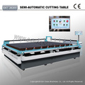 Semi-automatic Manual Glass Cutting Table For Flat Glass