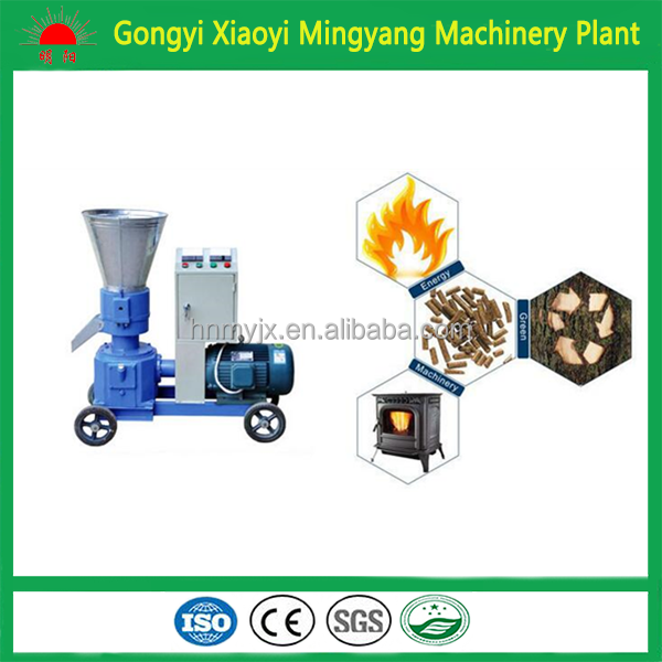 2016 China brand CE Marked automatic wood pellet making machine/biomass briquette making machine