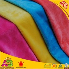 Hot Sell Polyester Minky Industrial Fabric With High Quality Control