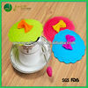 Promotional gifts colorful silicone tea cup cover