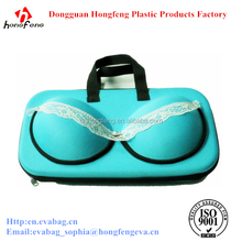 2015 New year promotion bra bag portable bra zipper lock bag with safty materials