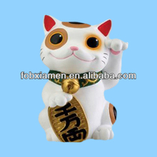 Japanese Hand-made Porcelain Cat Figurines