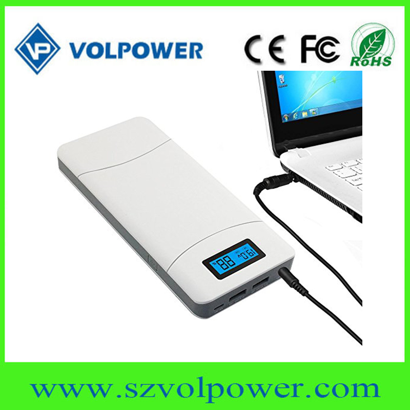 Power Bank Portable Charger Backup External Multiport Battery Pack 20000mah for laptop smartphone jump starter