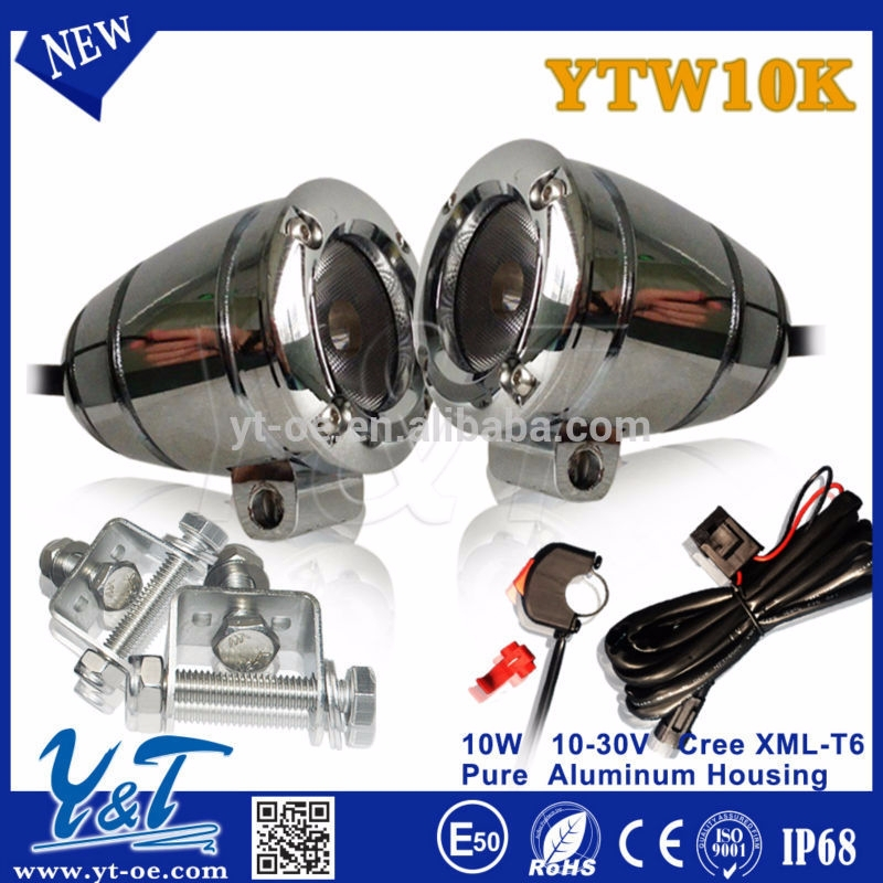 Y&T Most power,Most brightness work light ,10w round high intensity light,autobike led back lamp