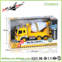 City building cement truck toys friction construction toy cars Big friction powered plastic engineering car