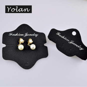 professional wholesale PP earring display card