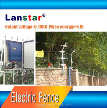Higher security level electric fence energizer perimeter prevention solutions
