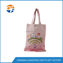 Customized Cheap Wholesale Fashion Reusable Tote Cotton Bag, canvas tote bag