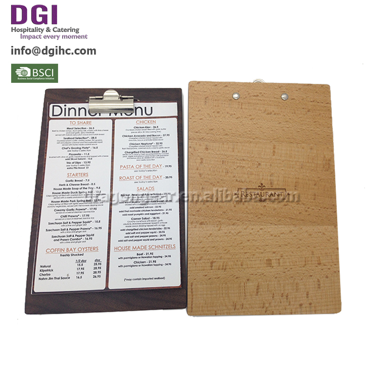 Custom Size best printer for restaurant menus catering services