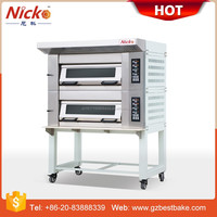 Germany style 3 deck baking oven Electric deck oven for bakery equipment