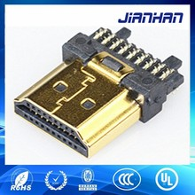 HDMI 19P A type soldering male connector