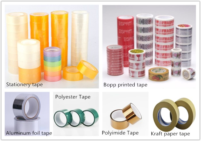 Best selling imports packing tape , custom printed logo kraft paper tape