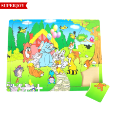 wholesale intelligent educational wooden jigsaw puzzle